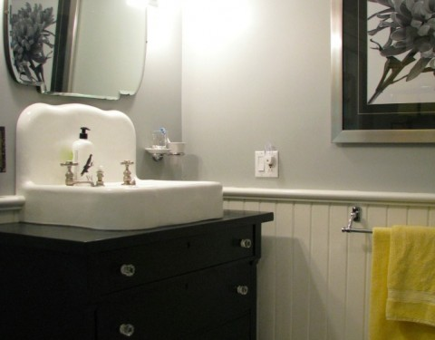 Cottage Style Small Bathroom Remodel